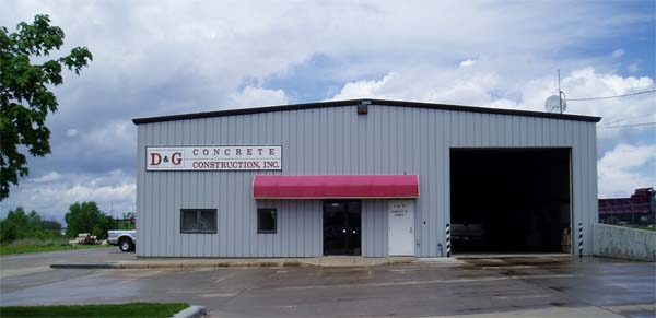 D&G Concrete, Contractor In Sioux Falls, SD